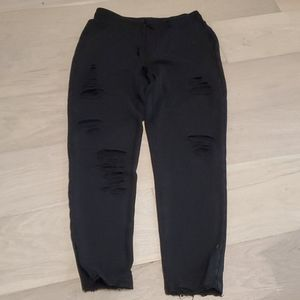 Alo Distressed Sweatpants